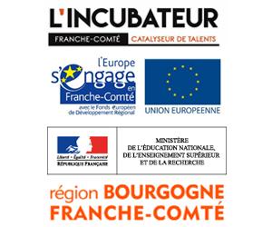 Share And Move solutions a été soutenu par : du Ministère de l'Éducation Nationale, de l'Enseignement Supérieur et de la Recherche, du Fonds Européen de Développement Régional (FEDER), du Conseil Régional de Bourgogne-Franche-Comté et de l'Incubateur d'Entreprises Innovantes de Franche-Comté.